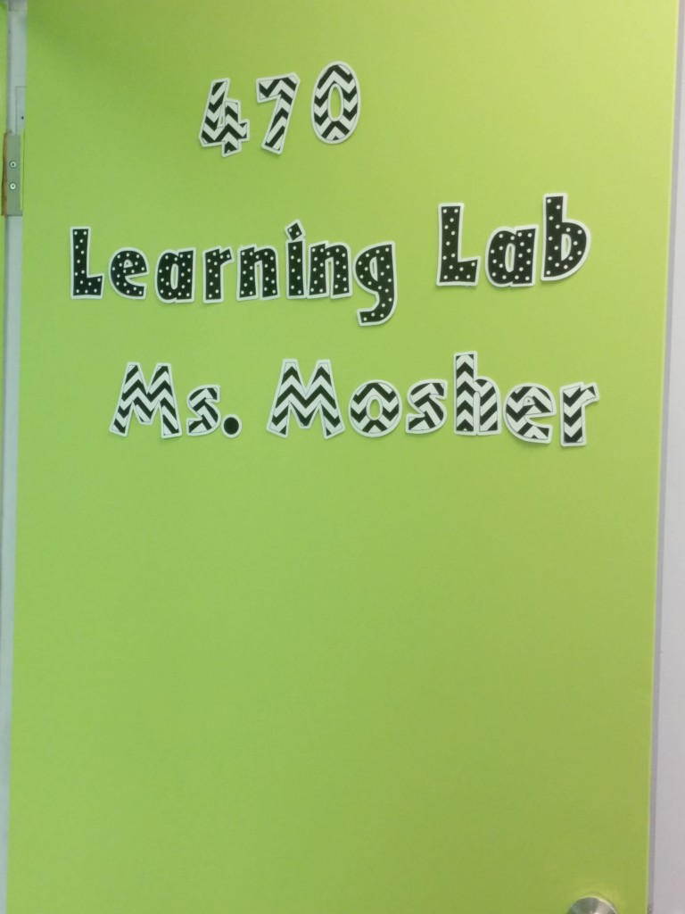 Classroom design: My new door