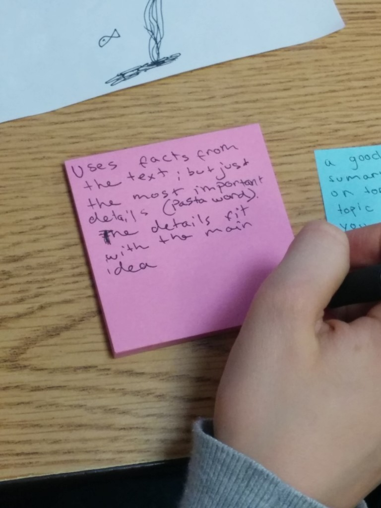 Using SRSD with close reading