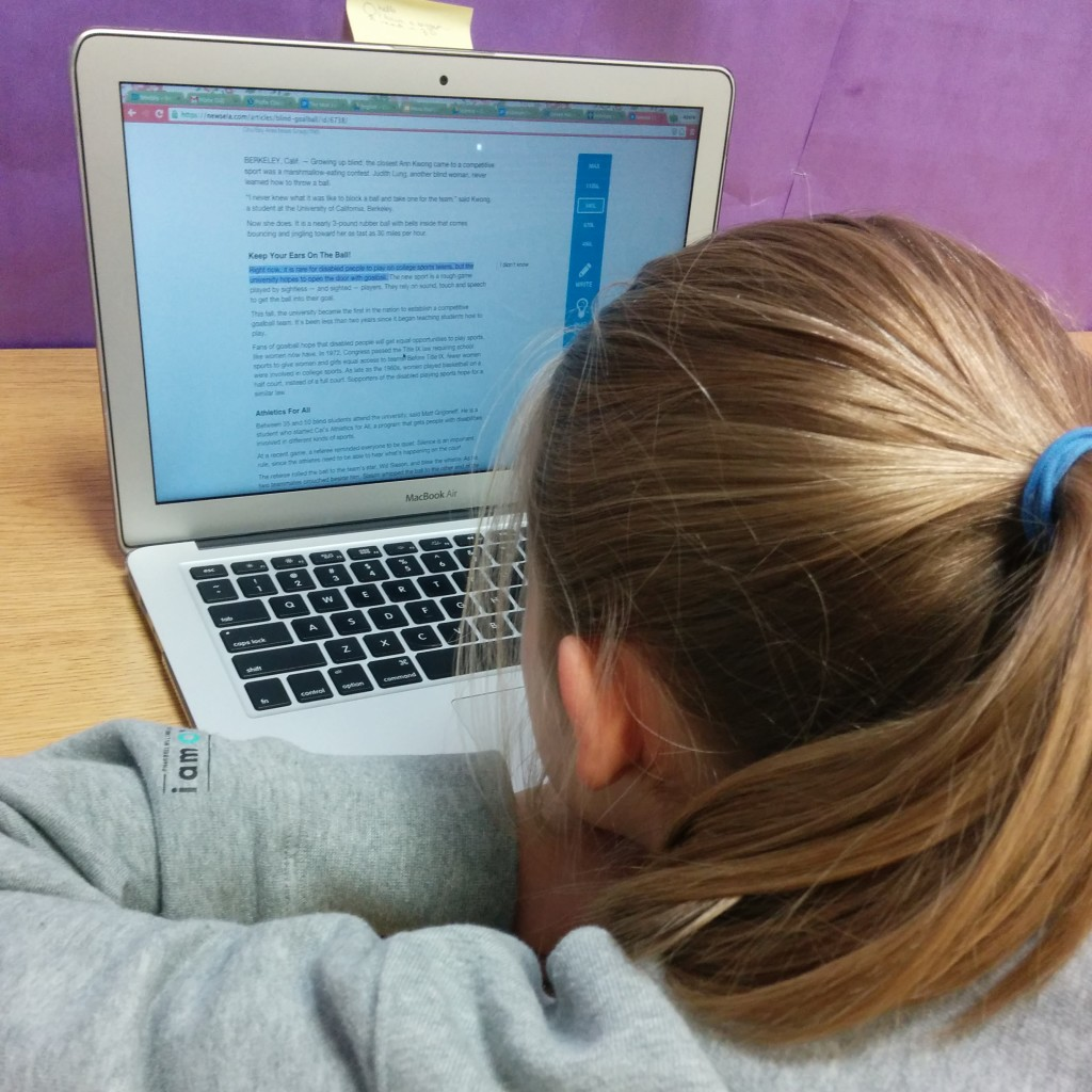 Leveraging 1:1 Laptops for Assistive Tech