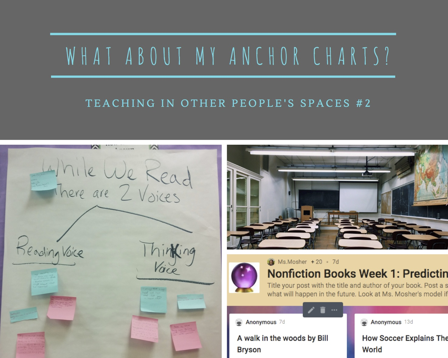 Where Have My Anchor Charts gone-